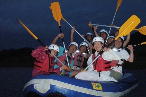【2時間・ムーンライト】夕方~夜の那珂川をファンボートで下ろう!