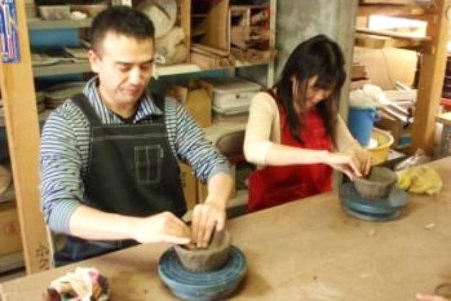 【手びねり】基礎から教えます。北海道旅行の思い出に陶芸体験!
