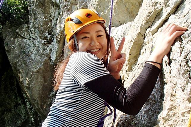 【沖縄北部・ロッククライミング・カップル限定】プライベートデートプランで沖縄の山を満喫!★写真プレゼント
