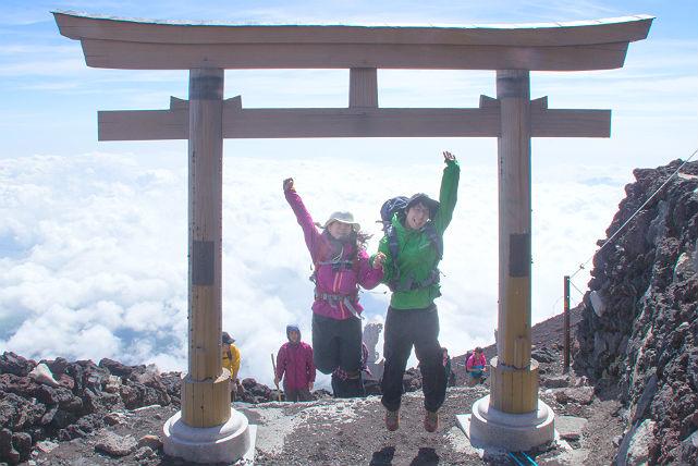 山梨・富士山・登山ツアー(1泊2日)