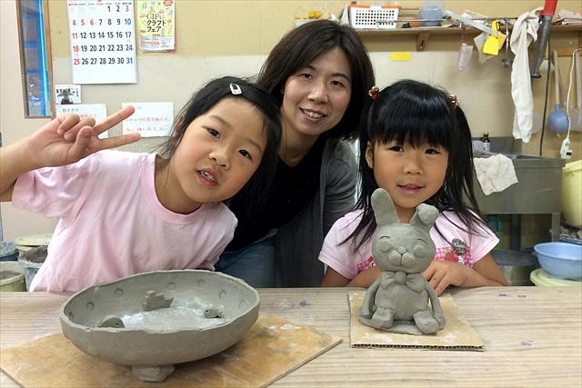 【岐阜・陶芸体験】自由自在に好きな作品を!手びねりでオリジナル陶器を作ろう
