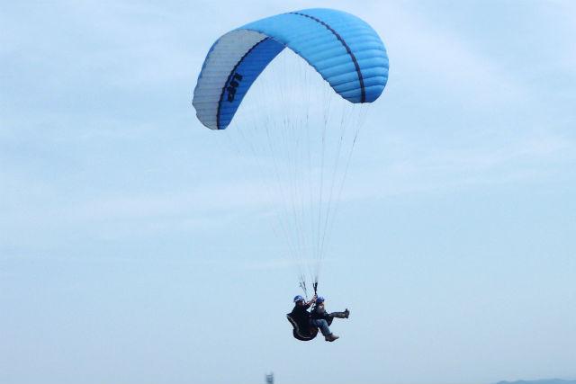 【体験&タンデム・半日】宮城・泉ヶ岳でパラグライダーをたっぷり楽しもう!