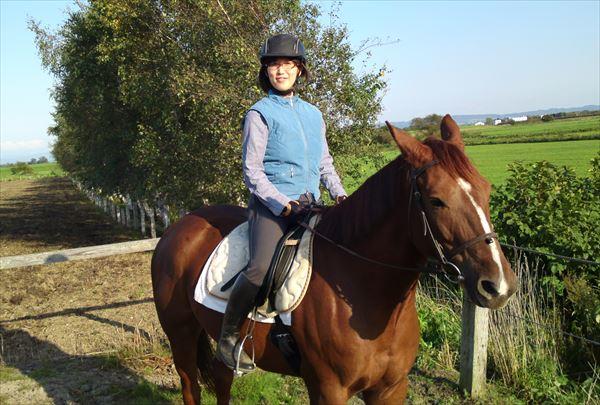 【体験・30分】北海道で乗馬の楽しさを気軽に味わおう!
