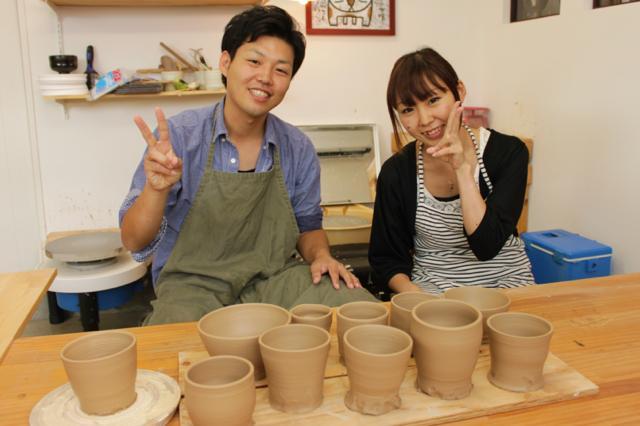 【福岡市郊外・陶芸体験】気軽に陶芸にチャレンジ!電動ろくろ体験