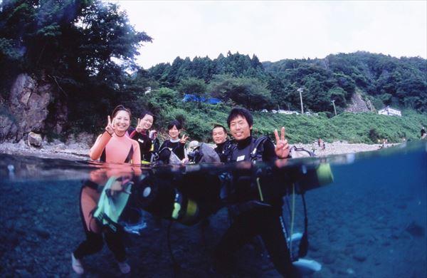 【佐渡・半日・体験ダイビング】初心者歓迎!佐渡の蒼い海で忘れられない思い出づくり