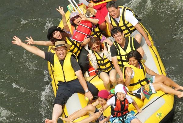【ニセコ・川下り体験80分】貸切で景色を楽しむ川下り!(写真データ付)
