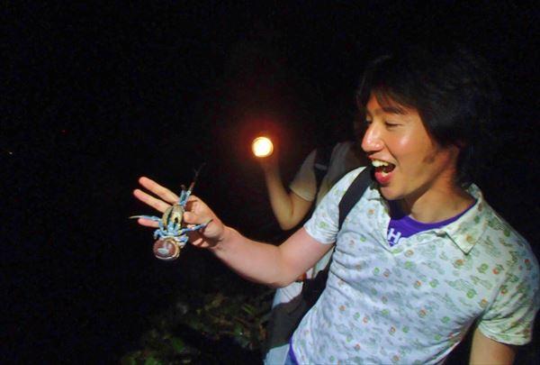 【2時間・シーズン限定】夜の宮古島を散策!ヤシガニ&星空を見に行こう