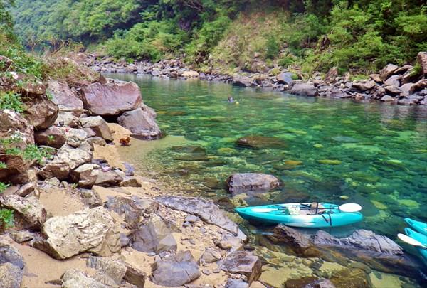 【1日】トレッキング&カヤック。屋久島の山と川に包まれる1日プラン