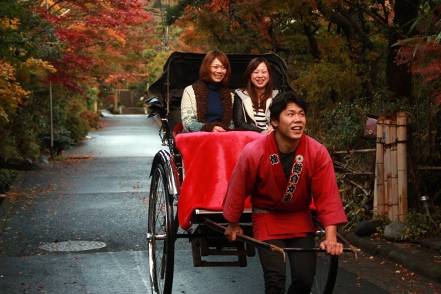 【人力車30分・選べる3コース】いにしえの鎌倉を人力車で巡ろう!