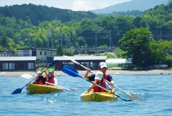 【滋賀・琵琶湖・カヤック】日本最大の湖を自由に冒険しよう!琵琶湖カヤック体験