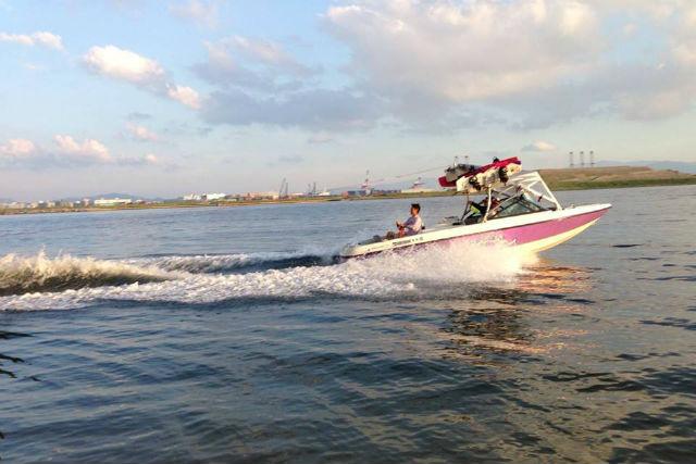 【初心者歓迎】博多湾で気軽にウエイクサーフィン!
