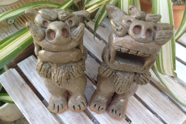【兵庫・陶芸体験】毎日開催・新婚デートにも!沖縄粘土を使ったシーサー作り体験