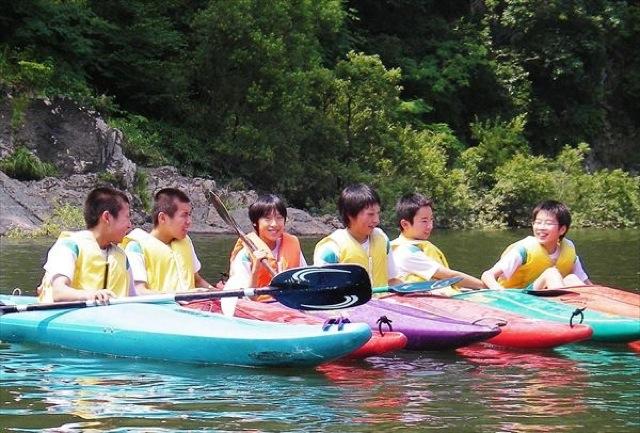 【半日】江の川でのんびりカヌー・カヤック体験!ご家族も歓迎!