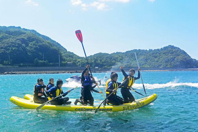 徳島・日和佐の海でゆったりSUPorシーカヤック体験(2時間)