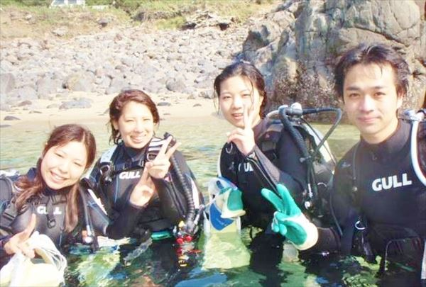 【半日】屋久島でゆったり海中散歩!ビーチorボートが選べる体験ダイビング