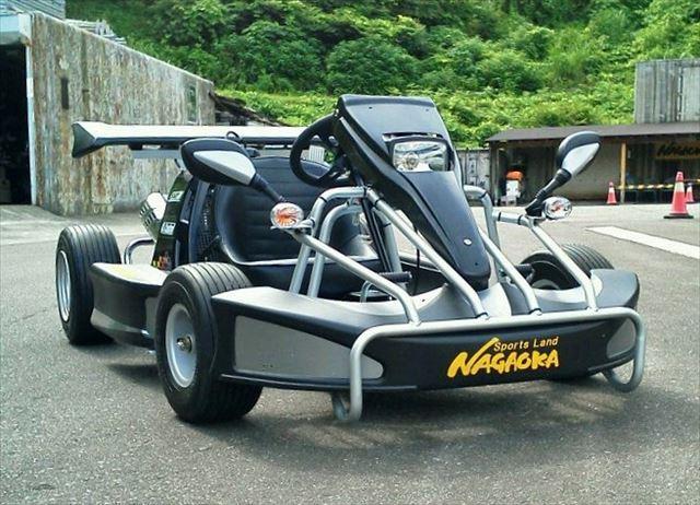 【長岡・ゴーカート】免許不要!ヘルメット不要!X-Kartでゴーカート体験
