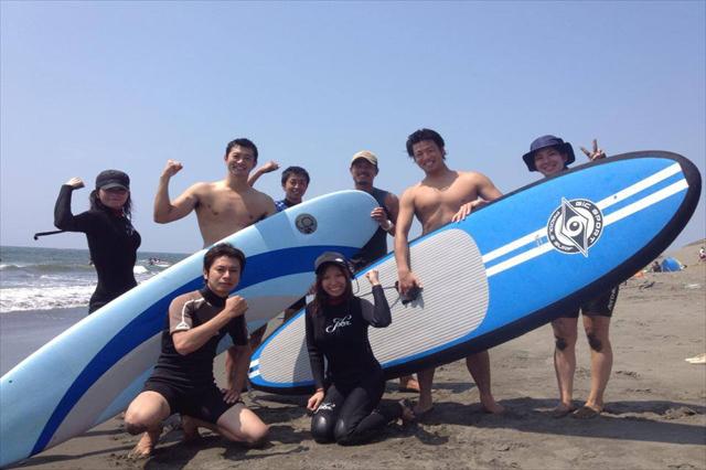 【茅ヶ崎・親子3時間】湘南・4名様までOK!家族でサーフィンを楽しもう