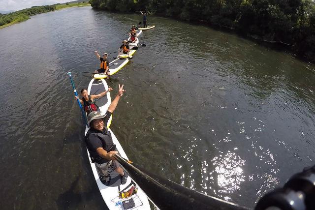 【北海道・ニセコ・SUP】気軽に楽しみたい人にオススメ!ニセコ尻別川・半日SUP体験