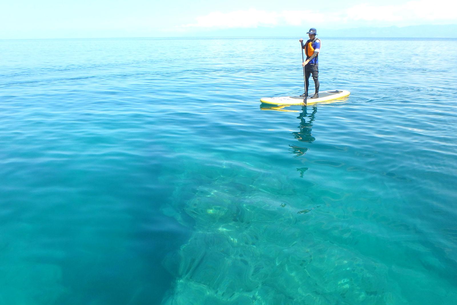 【北海道・ニセコ発】エメラルドグリーンの海でSUPクルージング(5時間)
