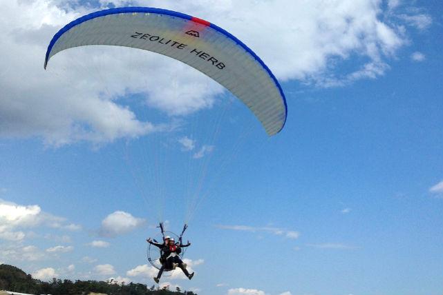 【モーターパラグライダー・タンデム】松島を望む感動のフライトへ!