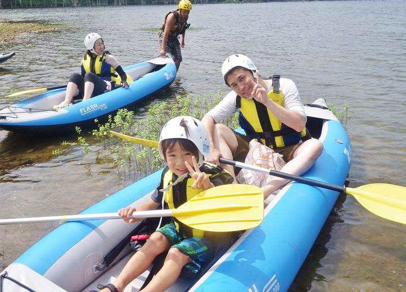 【半日】さっぽろ湖を探検!カヌー体験プラン