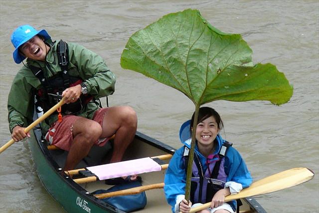 【北海道富良野・カナディアンカヌー】2名様までの限定!ゆらゆら川下り