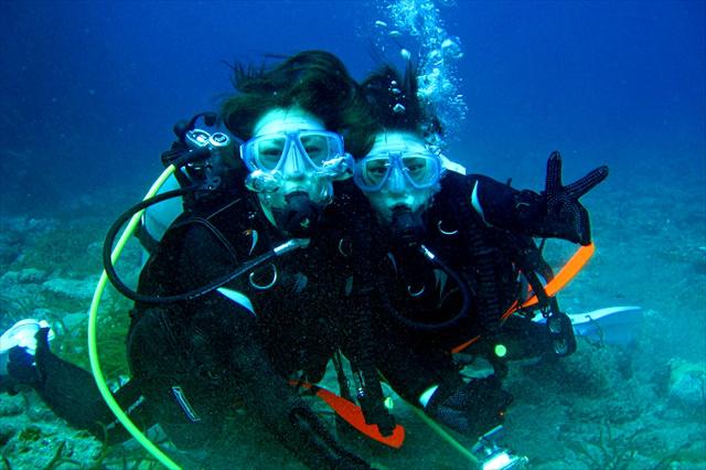 【屋久島・体験ダイビング・半日】初心者OK!抜群の透明度を誇る屋久島の海でダイビング!