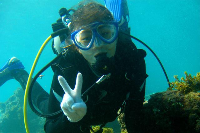 【屋久島・体験ダイビング・1日】大学生の思い出作りを応援!屋久島の海で2ビーチダイブ(大学生限定)