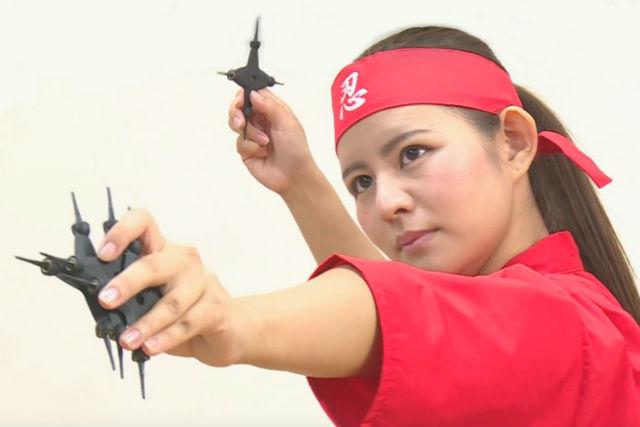 【静岡・浜松市・忍者体験】浜松で忍者の証を手に入れよう!手裏剣投げ放題&忍者試験
