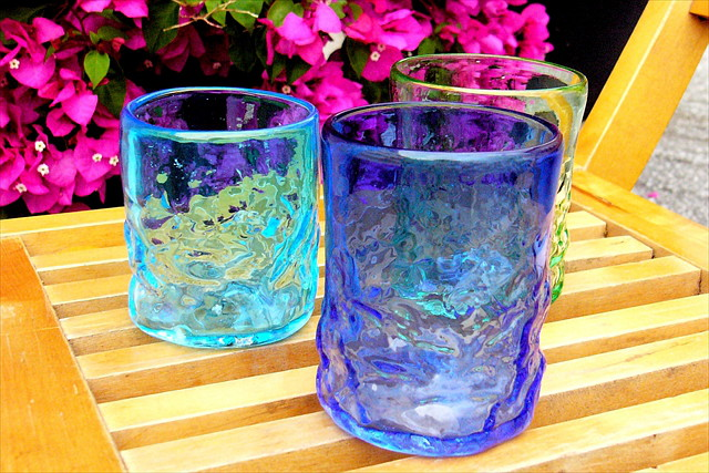 【沖縄・初心者大歓迎!】琉球ガラスでオリジナルグラス作り体験