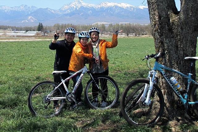 【八ヶ岳・マウンテンバイク】1日で野辺山の自然を大満喫!緑の芝生でアウトドアランチも楽しもう