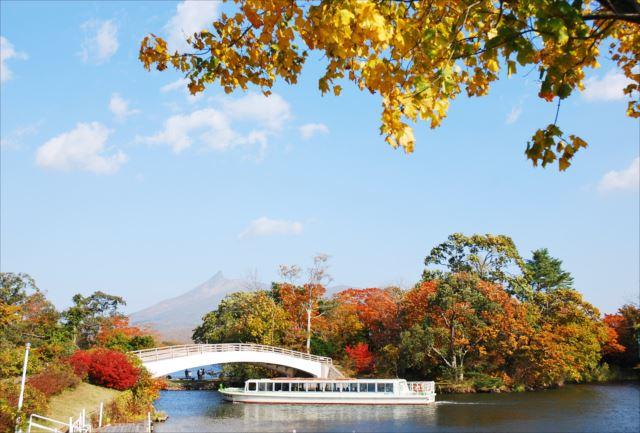 【函館大沼・クルージング】美しい島々をぐるり遊覧!大沼湖&小沼湖クルージング30分