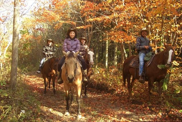 【北海道・乗馬体験】初めてでもカウボーイ気分!2時間半ウエスタン乗馬体験