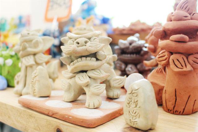 【沖縄名護市・シーサー作り】沖縄旅行の記念に陶器シーサーを作ってみよう!