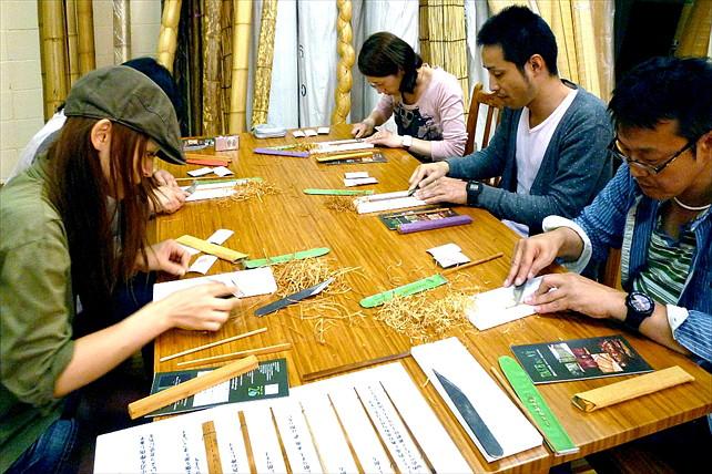 【箸作り体験】京都の老舗・横山竹材店でMY箸セット作り。2時間ほどでお持帰りできます!