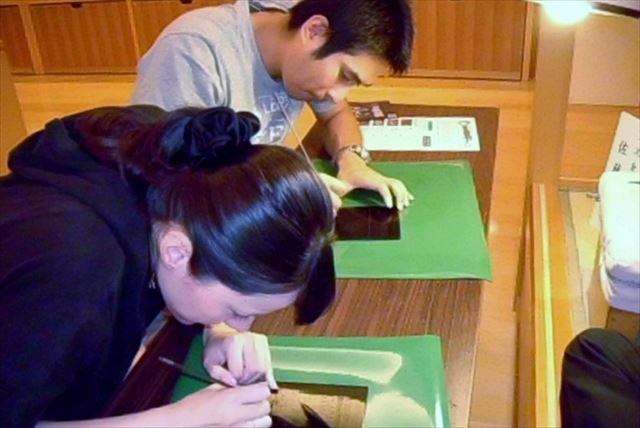 【秋田県湯沢市・伝統工芸沈金体験】美しい輝き。沈金の技と伝統を体験しよう!