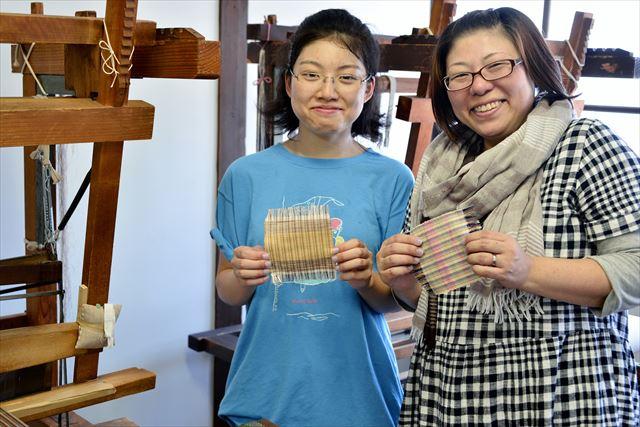 【山形・上杉家廟所すぐ】世界に誇る伝統文化「米沢織」を体験。シルクコースター作り
