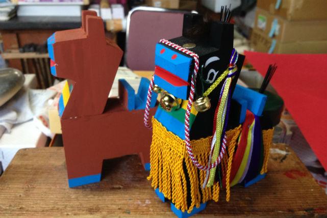 【岩手・盛岡市・ちゃぐちゃぐ馬っこ絵付け】岩手のおもちゃ・ちゃぐちゃぐ馬っこに絵付け体験!
