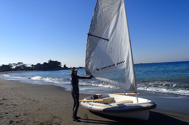 【神奈川・逗子・ヨット】マンツーマンの完全プライベート初めての方歓迎!ヨット体験