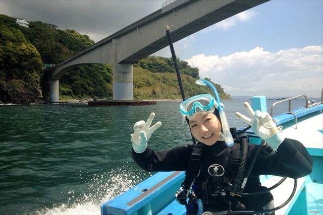 【伊豆・真鶴 海で体験ダイビング】おすすめポイントにお連れします!海の魅力を体感