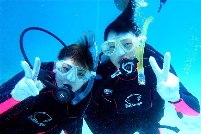 【石垣島・1日・体験ダイビング】BBQランチつき!石垣島の海で体験ダイビング