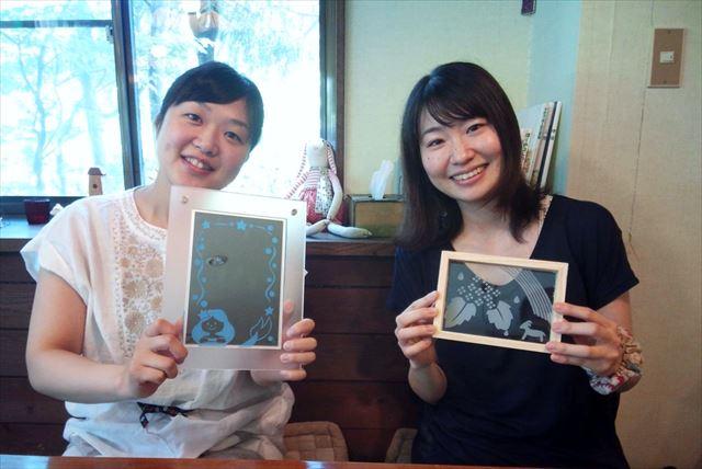 【那須・サンドブラスト体験】砂で削るガラスアート!デザインフリーでオリジナルプラン!