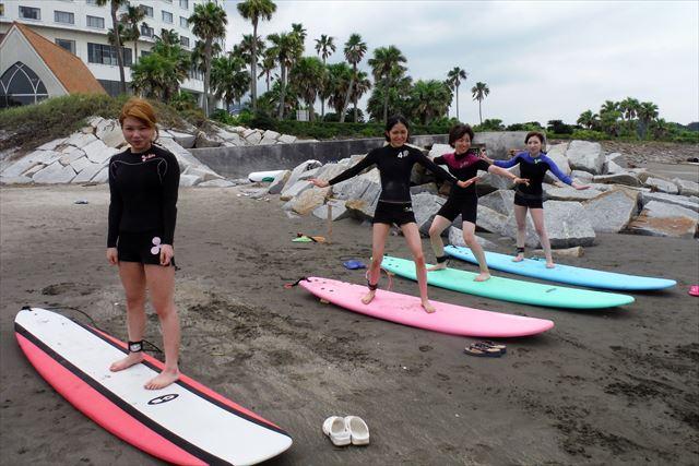 【宮崎・サーフィン体験】宮崎空港からすぐ!手ぶらで気軽にサーフィン体験!