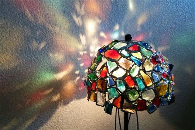 【仙台・ステンドグラス作り】やわらかな光のステンドグラスを作ろう!(2時間30分)