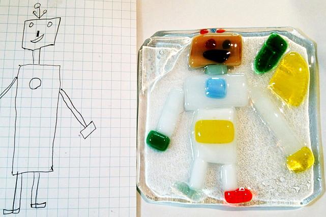 【島根・手作り】ガラスで絵を描くように、オリジナルのパネルを作ろう!