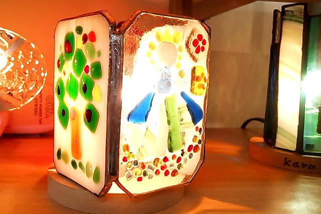 【島根・手作り】旅の思い出づくりにおすすめ!焼きガラスのランプ作り