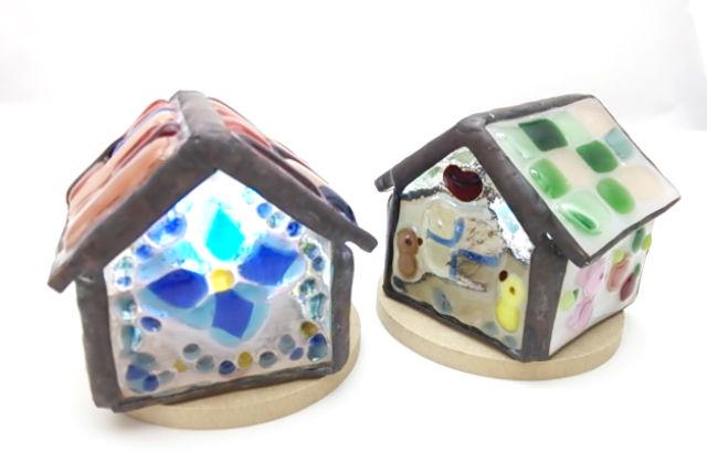 【島根・松江市・フュージング】自分の世界をかわいく表現!小さなガラスのおうち