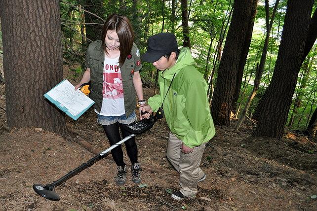 【山梨・河口湖/通年OK】トレジャーハンティング!ワイルドな自然が残る森の中でお宝探しを楽しもう