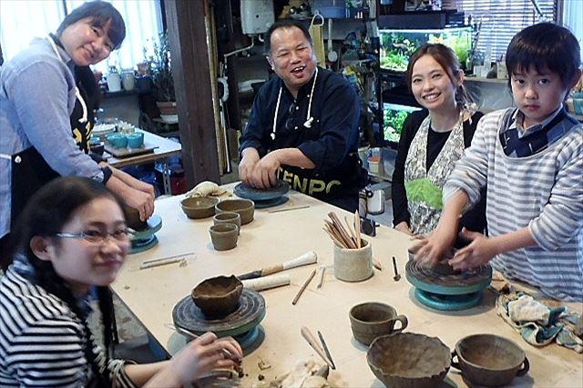 【福島・陶芸2回体験】完成度が高い作品をつくれます!森の中の工房で陶芸を楽しもう
