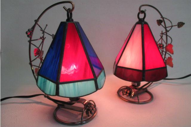 【横浜・3時間】ステンドグラスが生み出す繊細な明かりにうっとり!ランププラン